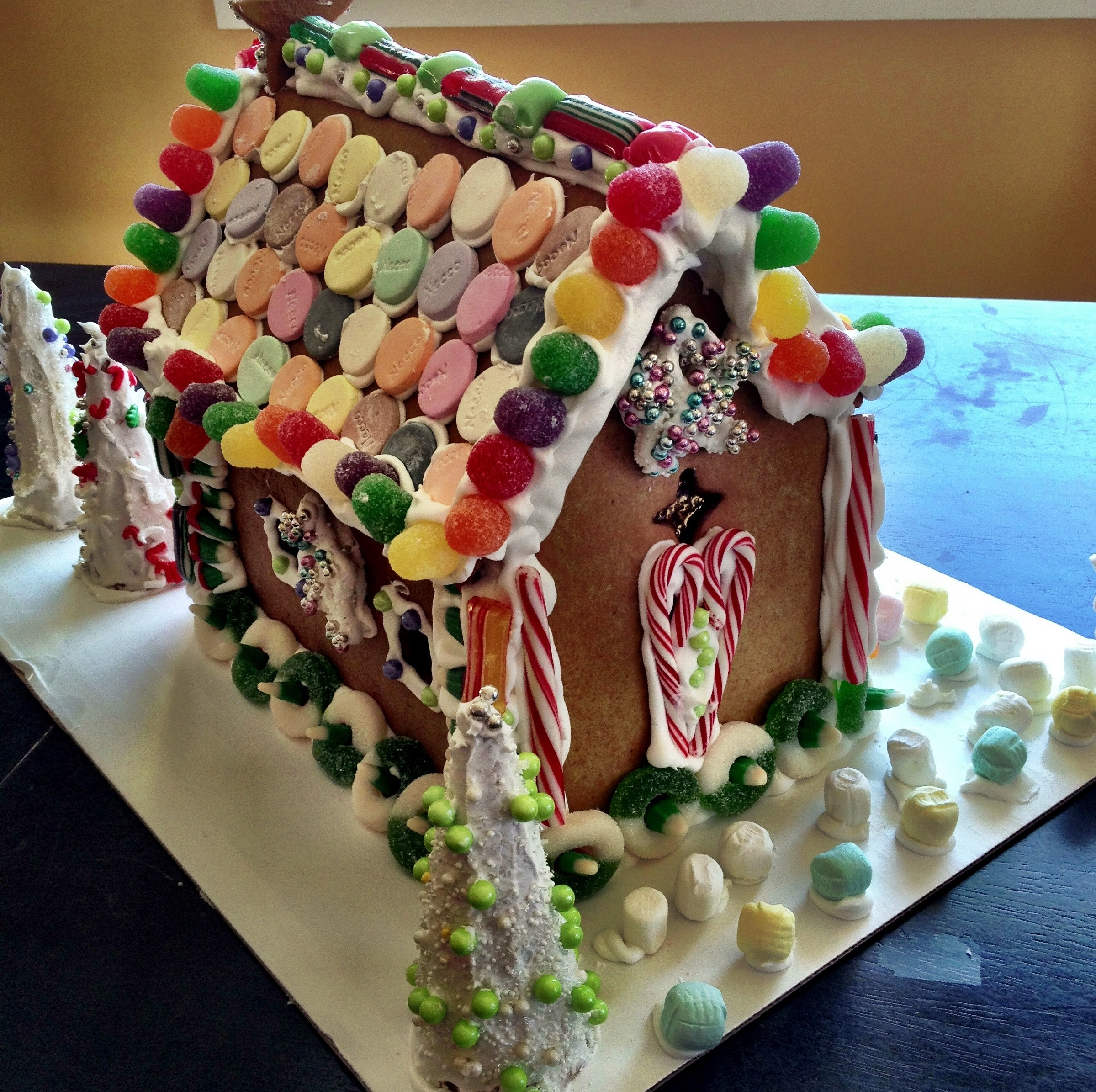 Simple Gingerbread House Recipe: General « Guilford Free Library