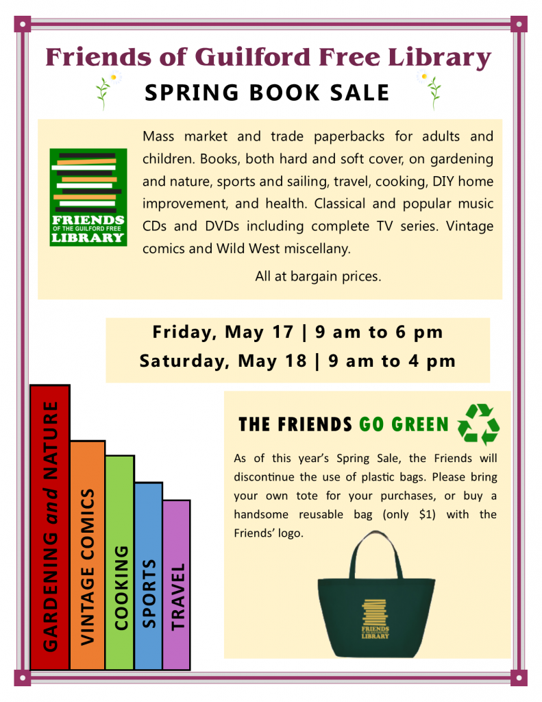 FOL Spring Sale Flyer 2019