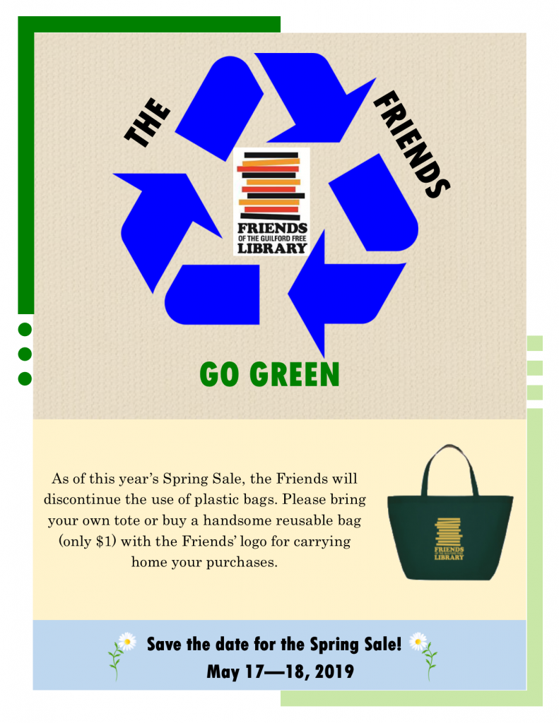 Friends Go Green Flyer